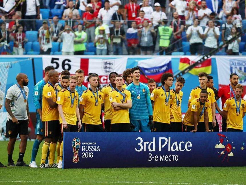 Belgium 3rd place
